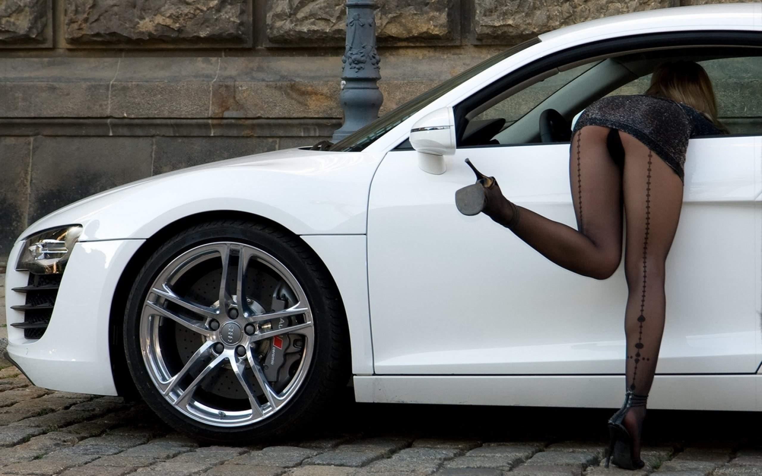 Русские женщины в машине 12 фотография